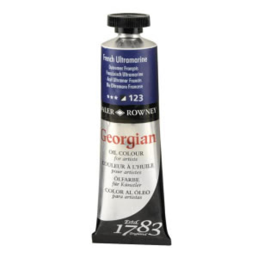 Daler Rowney Georgian Oil Paint 38 ml French Ultramarine, Oil Paint, Marka: Daler Rowney, kanvas tablo, canvas print sales