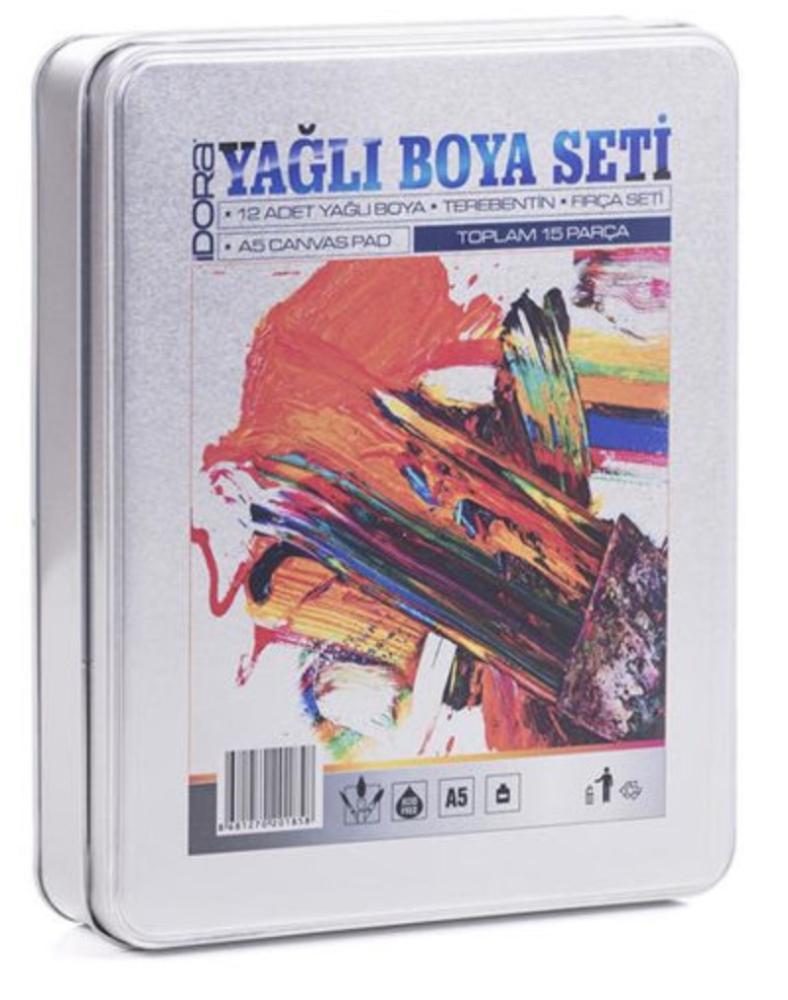 İdora Oil Painting Set 15 Pieces, Oil Paint, , kanvas tablo, canvas print sales