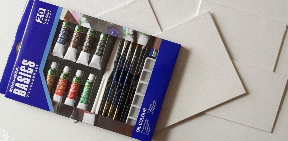 Magi-Wap 20 piece oil set, Oil Paint, , kanvas tablo, canvas print sales
