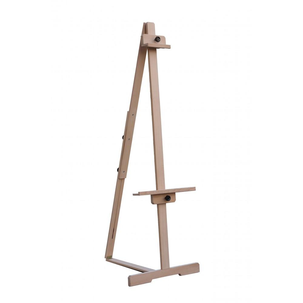 Karin Akademi T Ayaklı Gallery Type Height Adjustable 200 Cm Wooden Exhibition Easel, EASEL, Karin, kanvas tablo, canvas print sales