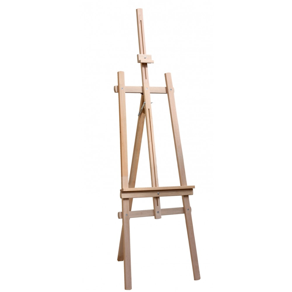 Karin Basic College Demounted Three-legged Type A Height Adjustable 171 cm Wooden Easel, EASEL, Karin, kanvas tablo, canvas print sales