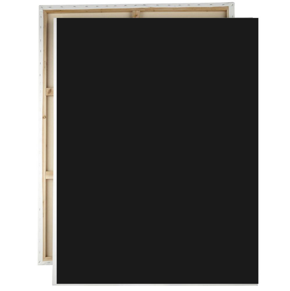 Black Pro Canvas Board 40x60 cm, Canvas,  tablo kanvas canvas paintings