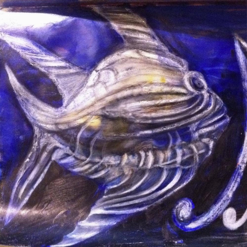 Deno Balığı, Dijital, , kanvas tablo, canvas print sales