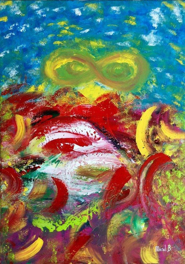 Thinking Fate, Original Paintings,