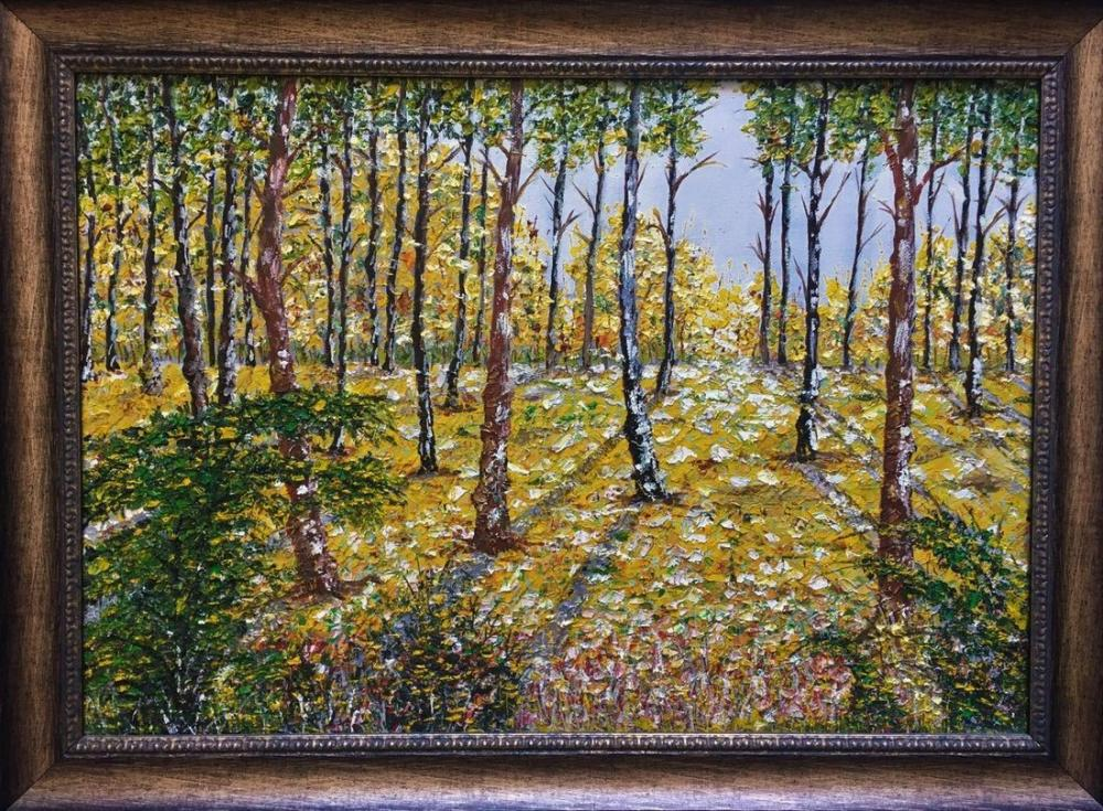 Autumn Grove, Reproduction Paintings, , kanvas tablo, canvas print sales