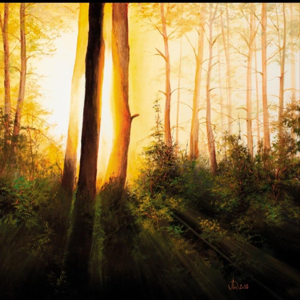 The Awakening forest, Orijinal Tablolar, , kanvas tablo, canvas print sales