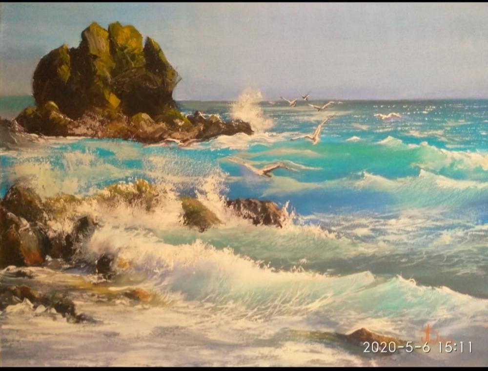 The Black Sea, Orijinal Tablolar, , kanvas tablo, canvas print sales
