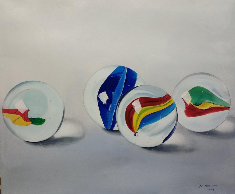 Çocukluğum, Orijinal Tablolar, , kanvas tablo, canvas print sales