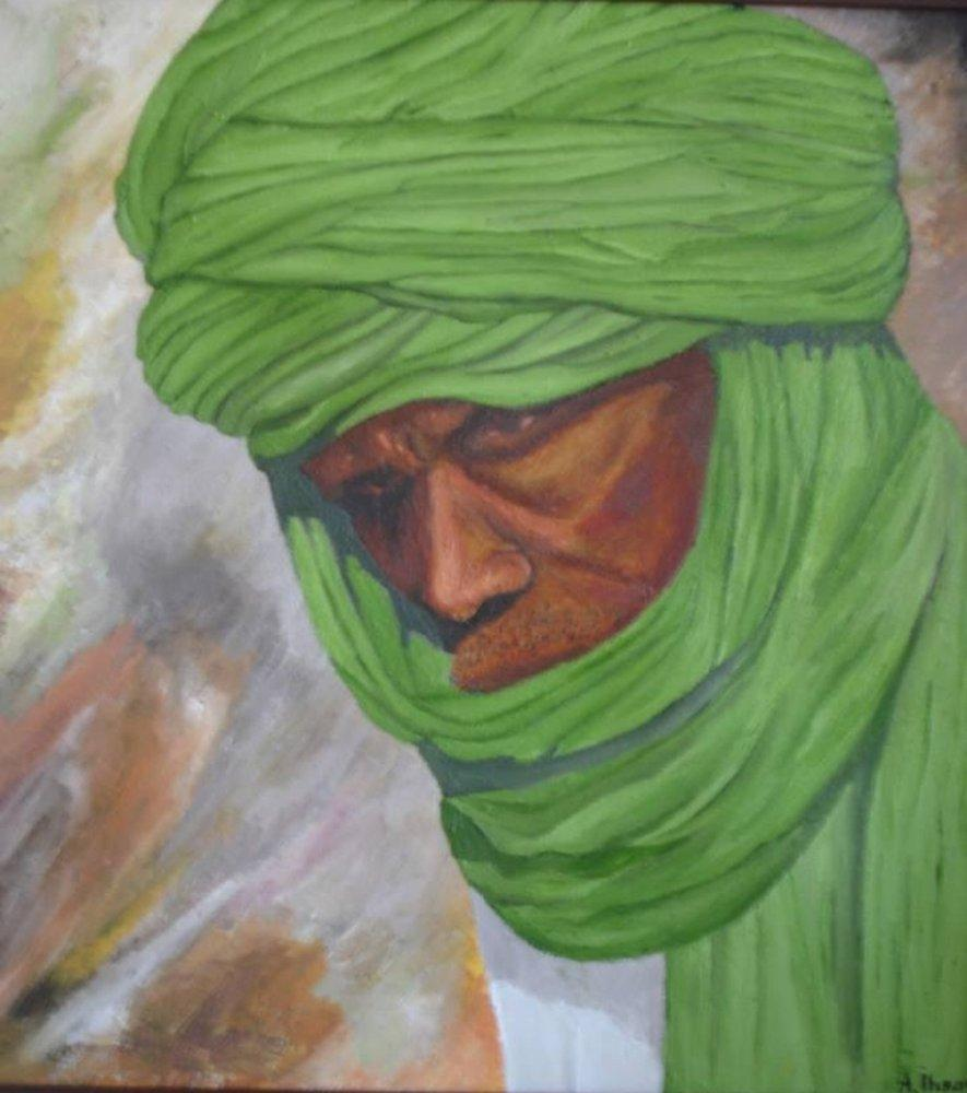 Arab, Original Paintings, , kanvas tablo, canvas print sales