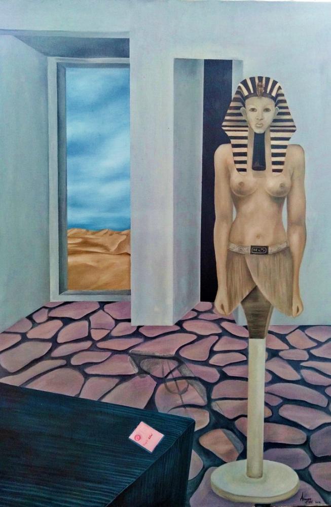 hatshepsut, Original Paintings, , kanvas tablo, canvas print sales