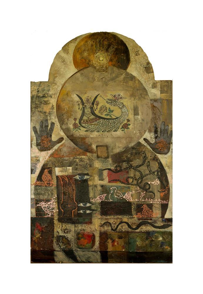 Şahmeran, Original Paintings, , kanvas tablo, canvas print sales