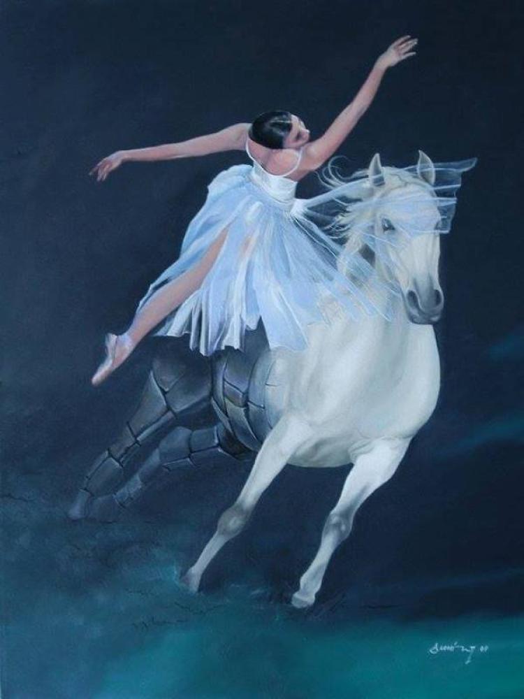 Ballerina, Original Paintings, , kanvas tablo, canvas print sales