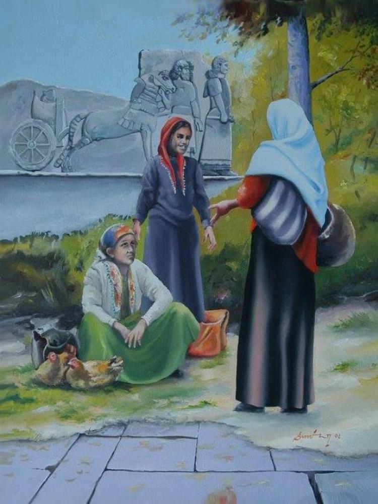 Anadolu Kadınlar, Orijinal Tablo,