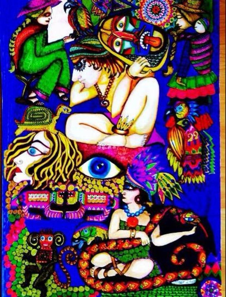 The Souls Left Behind, Original Paintings, Ayşe Eser Şahin, kanvas tablo, canvas print sales
