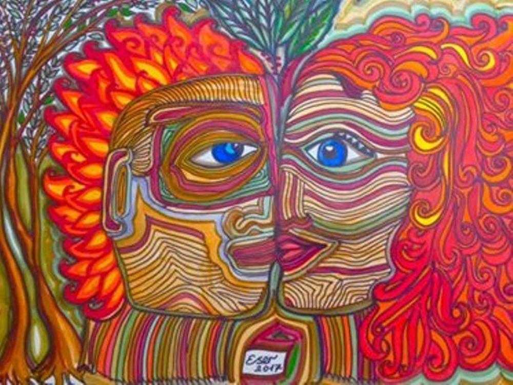 Endless Love, Original Paintings, Ayşe Eser Şahin, kanvas tablo, canvas print sales