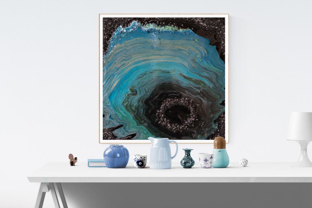 Abyss, Original Paintings,