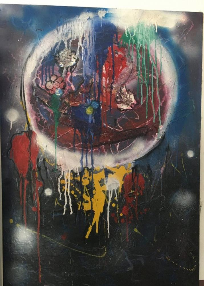 Darkness in the Moonlight, Original Paintings, , kanvas tablo, canvas print sales