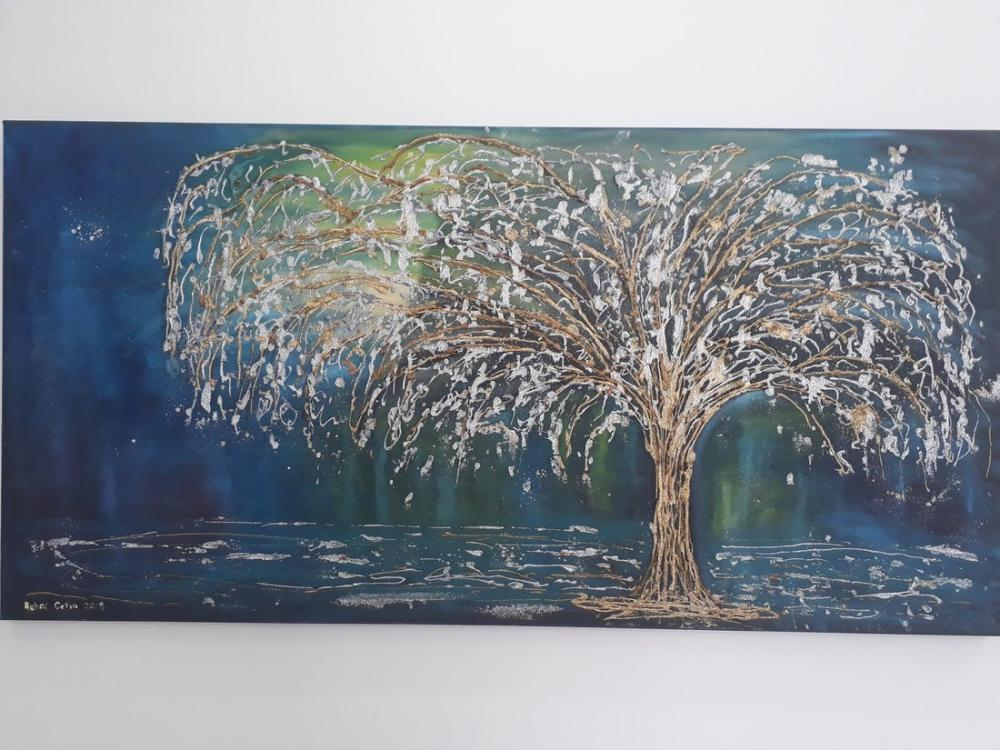 Altın ağaç, Orijinal Tablo,