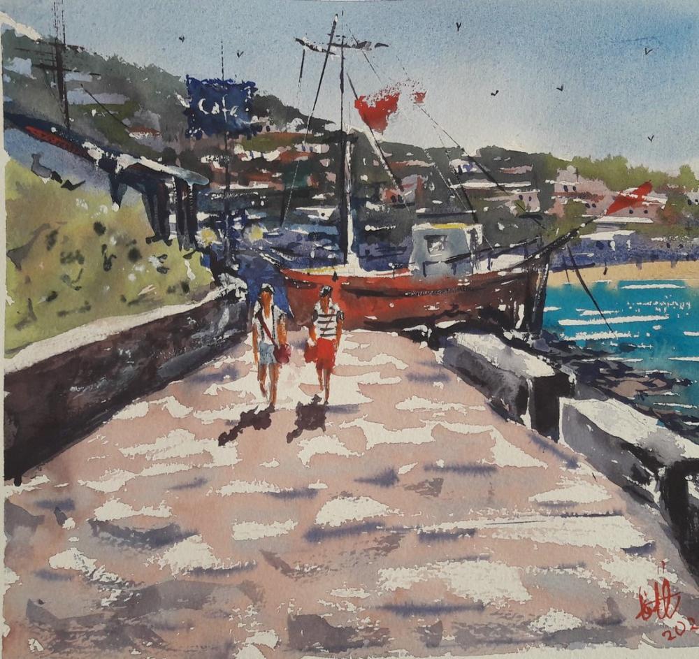 Denizden Eve Dönüş, Reprodüksiyon Tablo, , kanvas tablo, canvas print sales