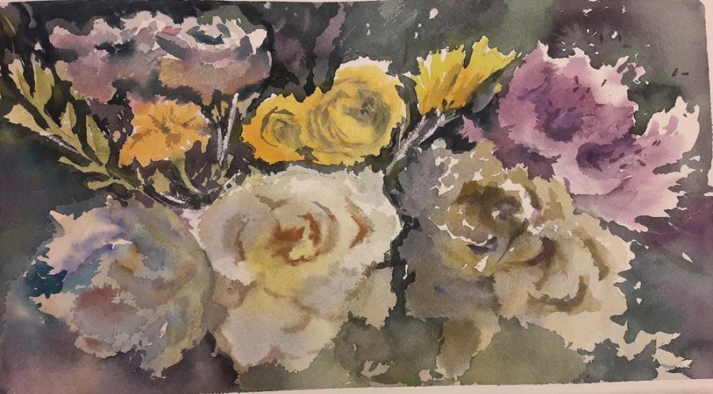 Roses, Original Paintings, , kanvas tablo, canvas print sales