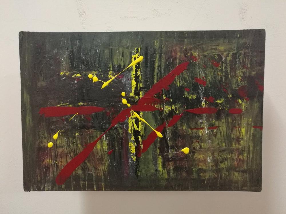 Dark, Original Paintings, , kanvas tablo, canvas print sales