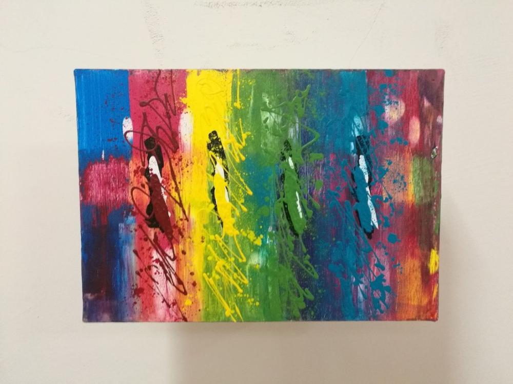 Colors 3, Original Paintings, , kanvas tablo, canvas print sales