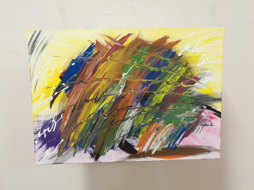 Hedgehog, Original Paintings, , kanvas tablo, canvas print sales