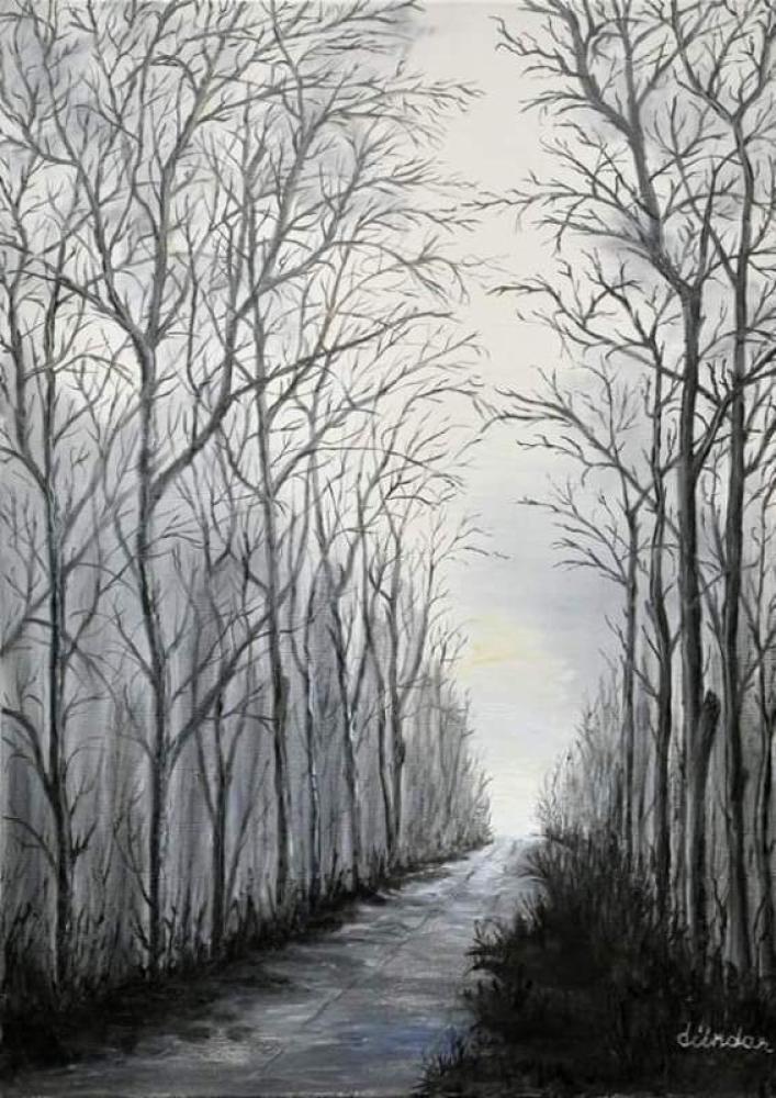 The Road to Eternity, Original Paintings, Cahit Dündar, kanvas tablo, canvas print sales