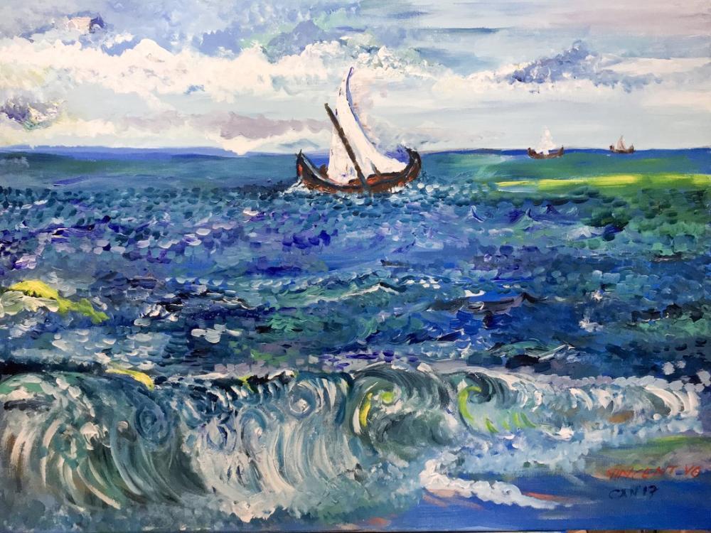 No 3, Reprodüksiyon Tablo, Vincent Van Gogh, kanvas tablo, canvas print sales