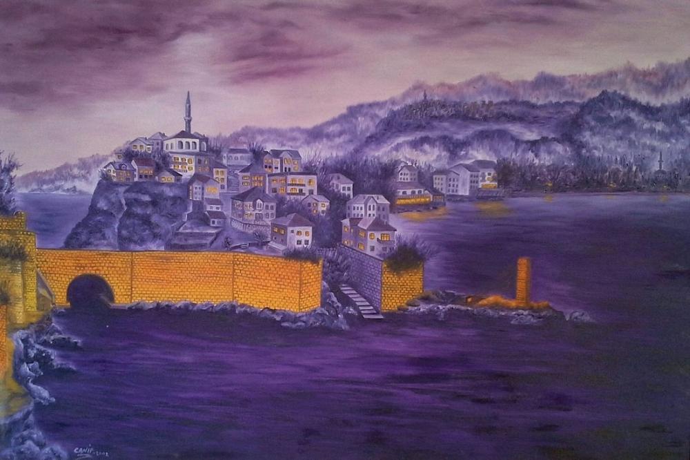Amasra, Direkli Kaya, Original Paintings,