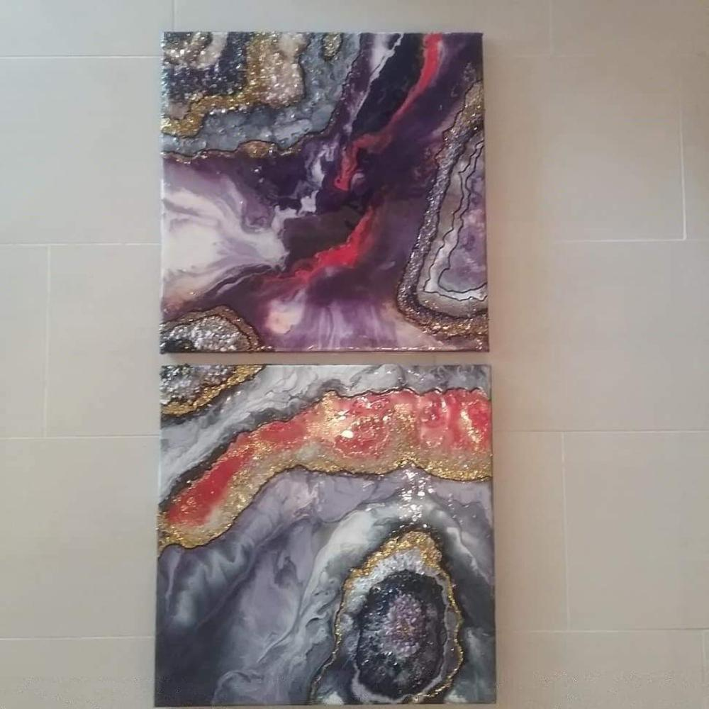 Dark Clouds, Original Paintings, , kanvas tablo, canvas print sales
