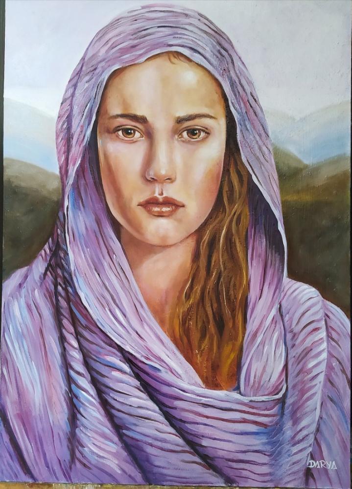 Yöresel Kadın Başlıkları, Orijinal Tablolar, , kanvas tablo, canvas print sales