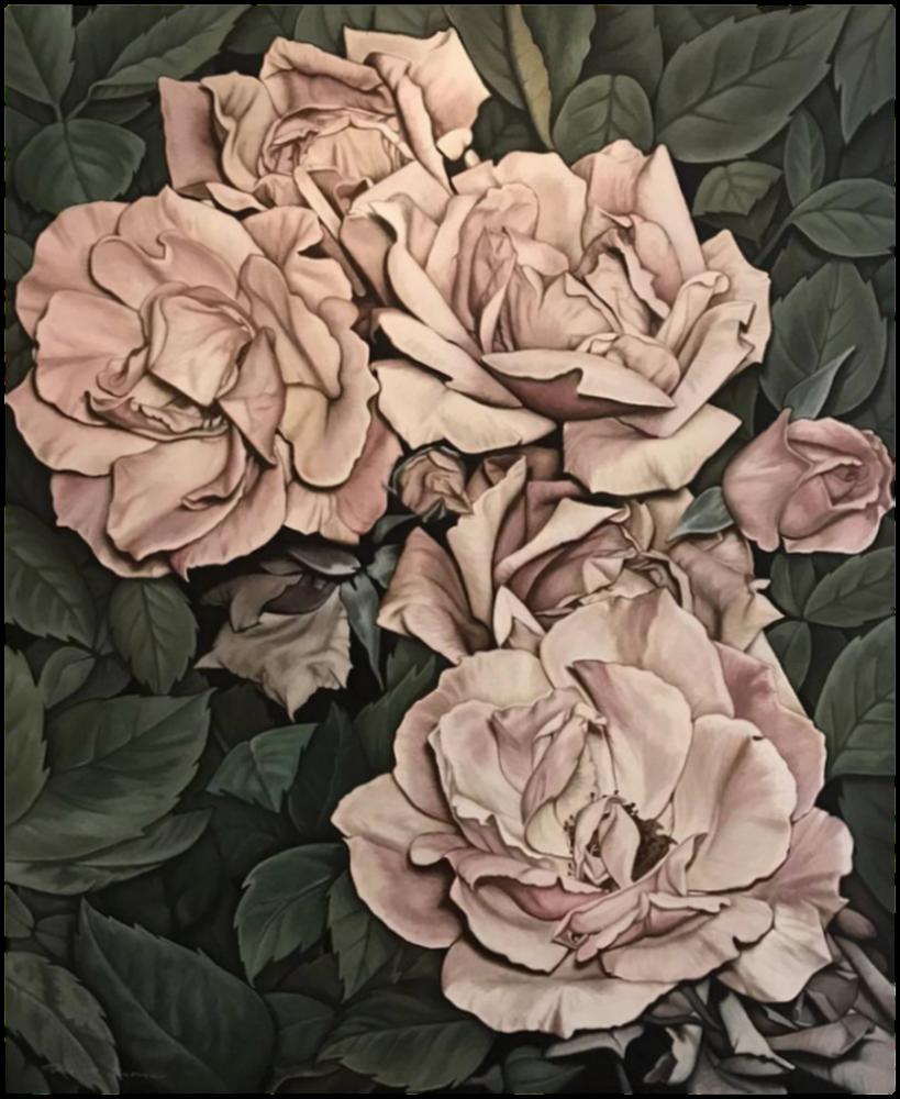 Pembe Güller, Orijinal Tablolar, , kanvas tablo, canvas print sales