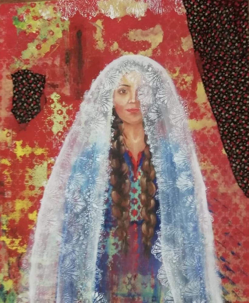 Anatolian Woman 3, Duygu Doğan, Original Paintings,