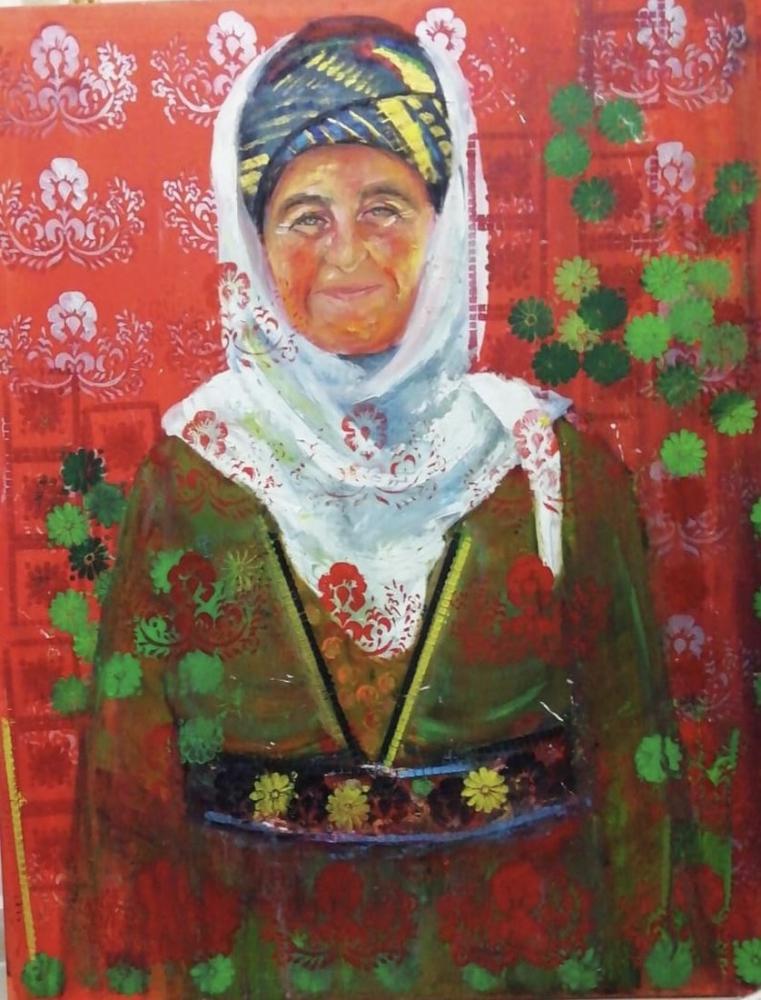 Anatolian Woman 2, Duygu Doğan, Original Paintings,