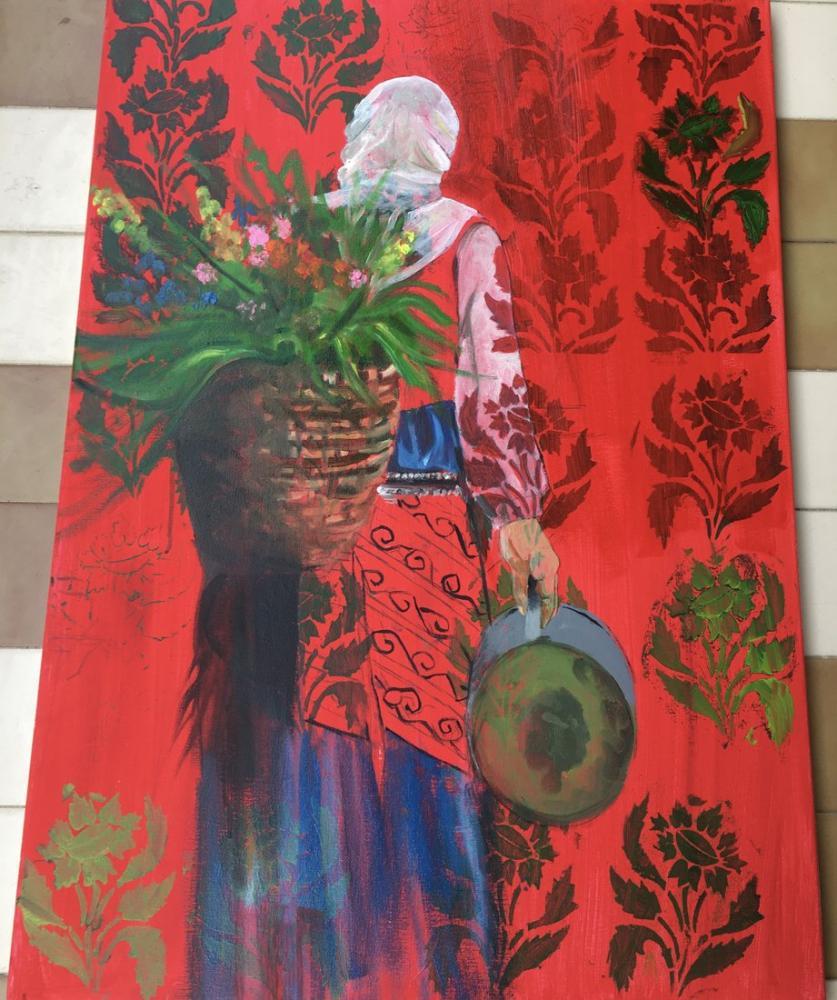 Anatolian Woman 1, Original Paintings,
