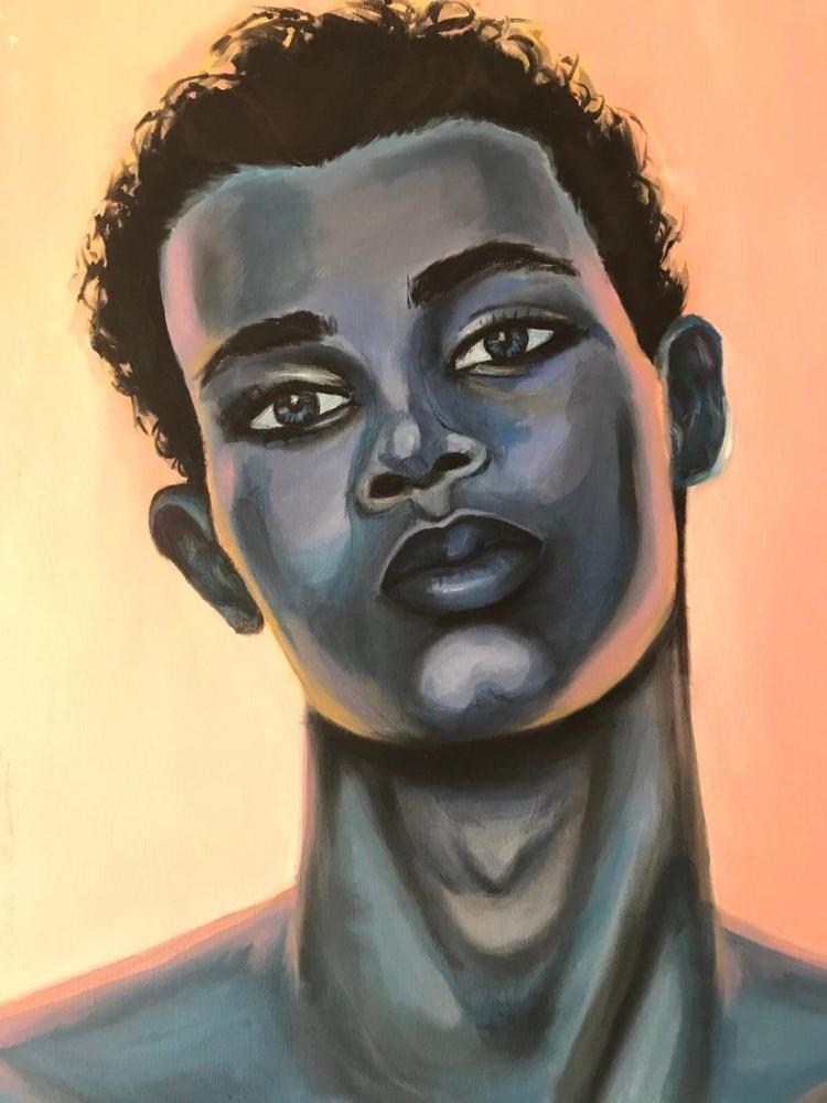 Against, Original Paintings, , kanvas tablo, canvas print sales