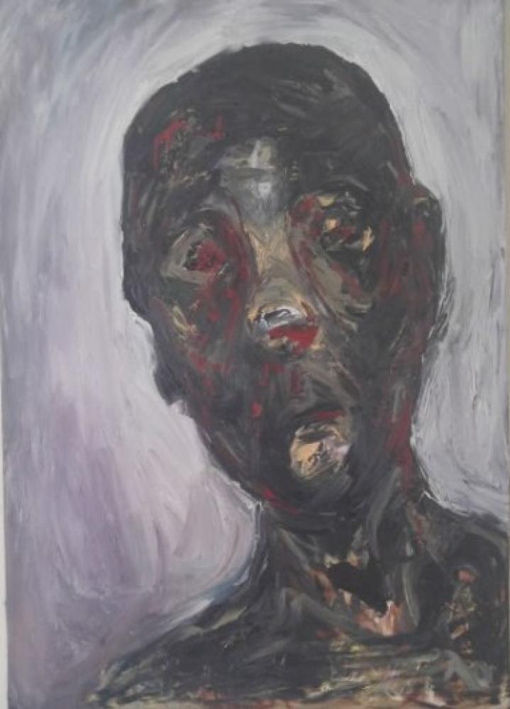 Bloody Portrait, Original Paintings,