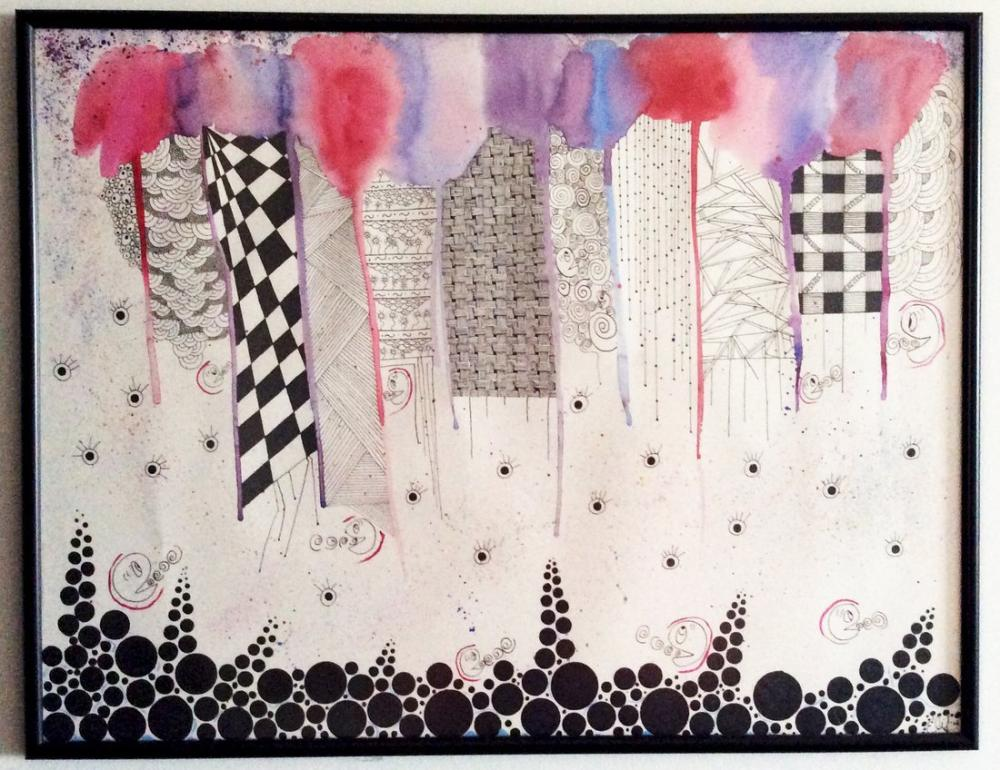 Is the City Reverse?, Original Paintings, , kanvas tablo, canvas print sales