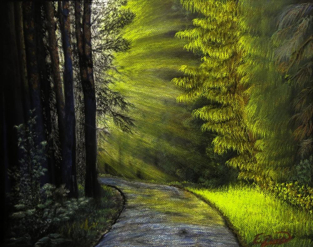 Işık hüzmeleri, Orijinal Tablolar, , kanvas tablo, canvas print sales
