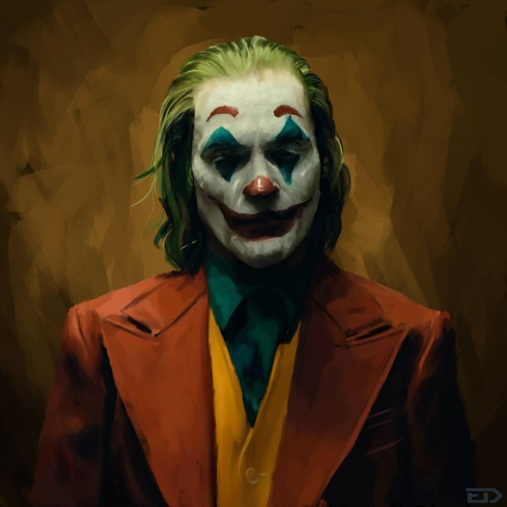 Joker, Dijital, , kanvas tablo, canvas print sales