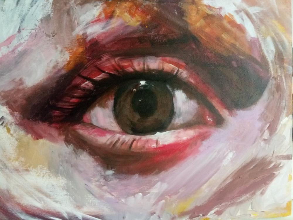 Göz, Narin, Orijinal Tablolar, , kanvas tablo, canvas print sales