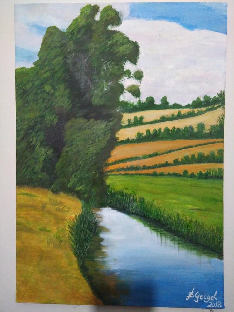 Yeşil Manzara, Reprodüksiyon Tablo, , kanvas tablo, canvas print sales