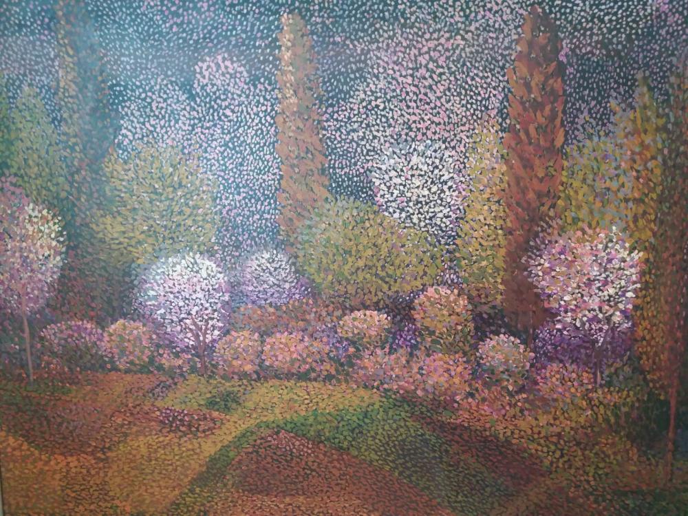 A Landscape, Original Paintings, , kanvas tablo, canvas print sales