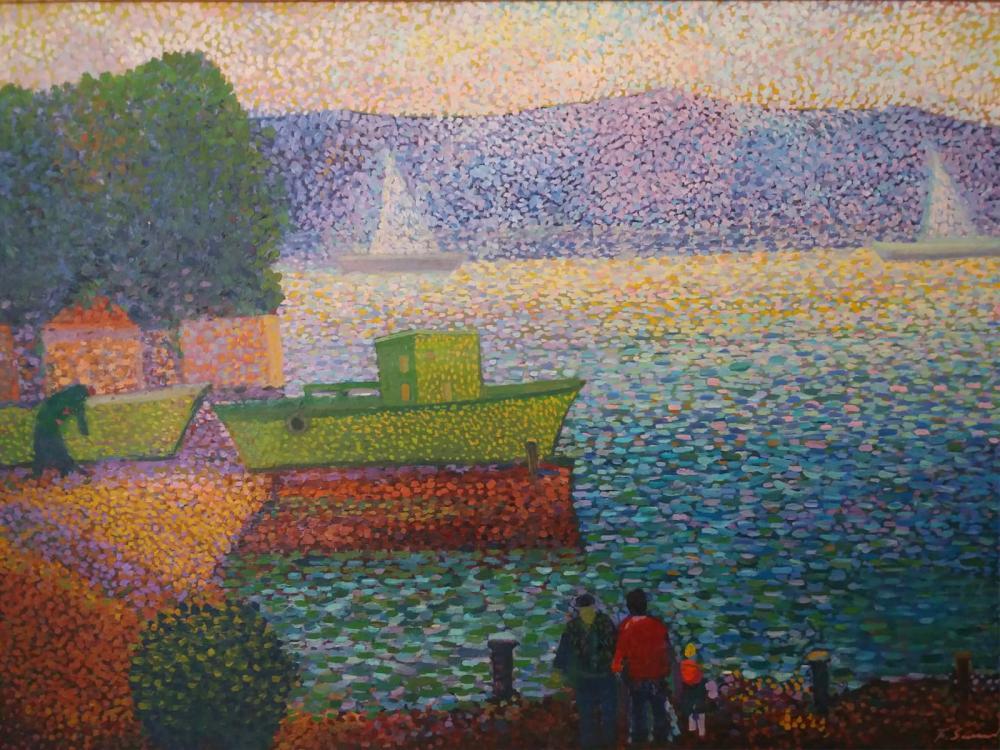 Sarıyer, Original Paintings, , kanvas tablo, canvas print sales