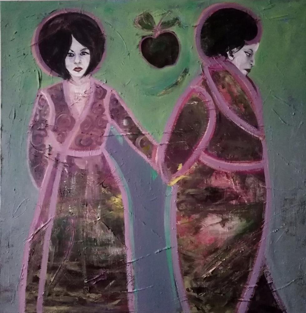 Adam and Eve, Original Paintings,