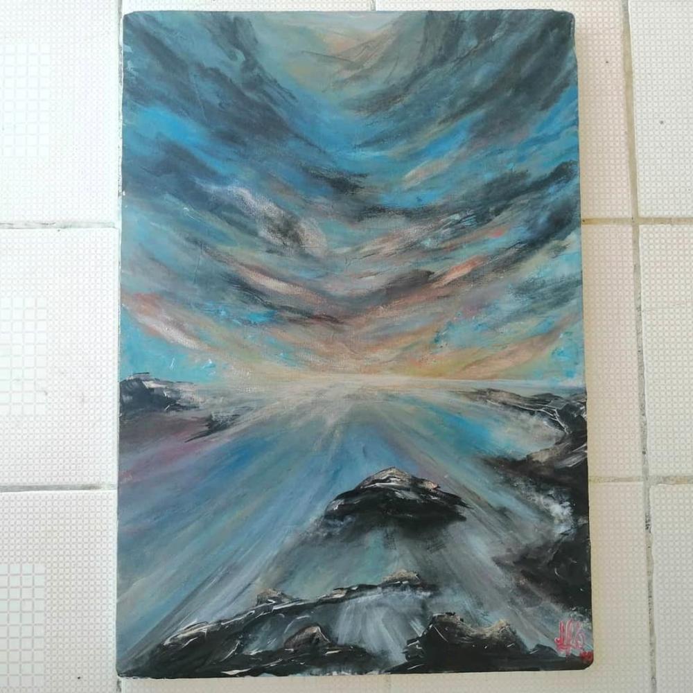 Horizon, Original Paintings, , kanvas tablo, canvas print sales