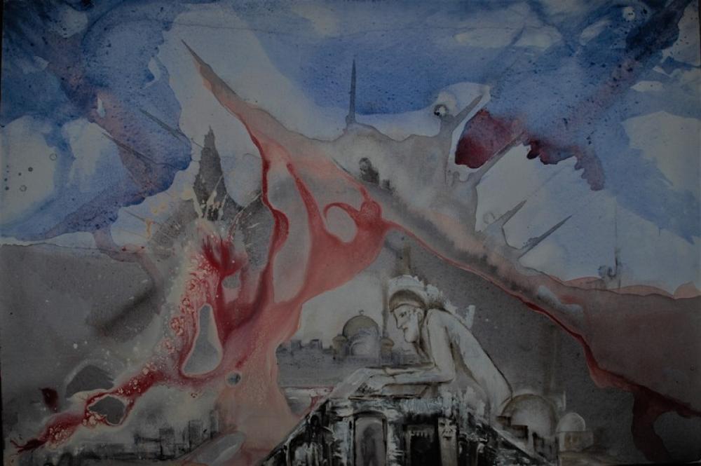 Appeal Acrylic Painting, Original Paintings, Fevzi Yavuz, kanvas tablo, canvas print sales