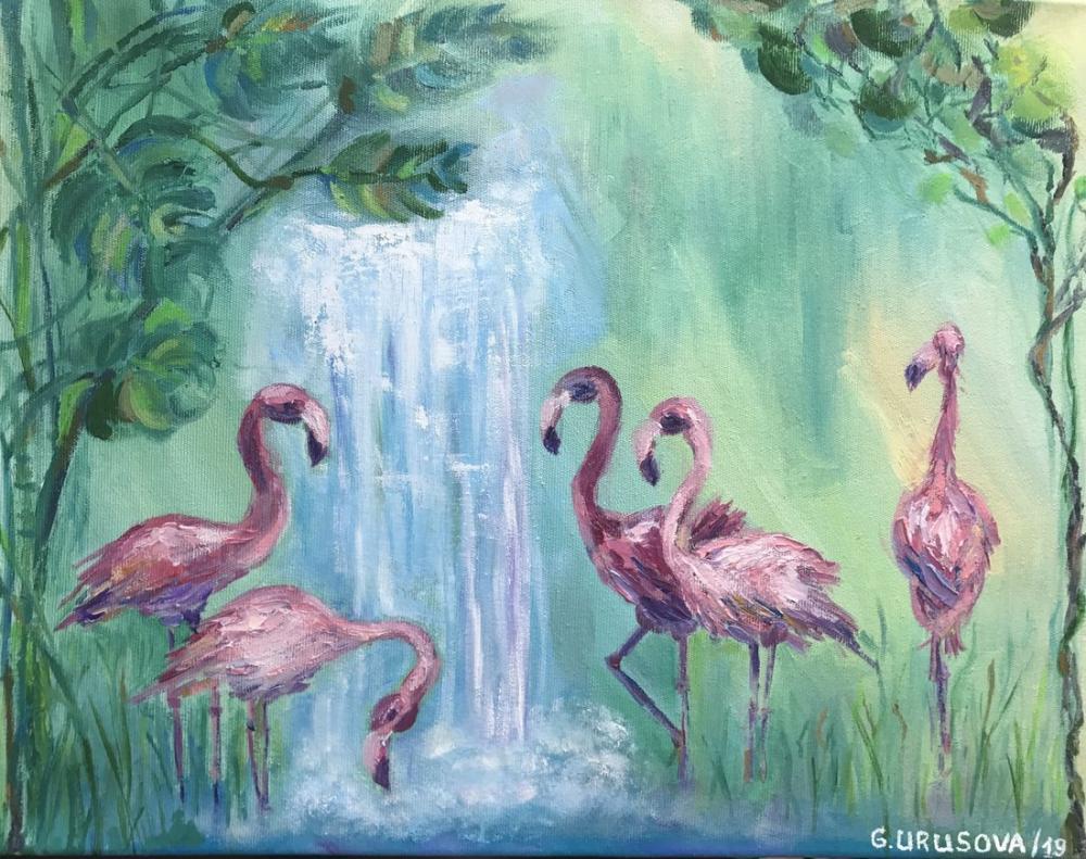 Paradise, Orijinal Tablolar, , kanvas tablo, canvas print sales
