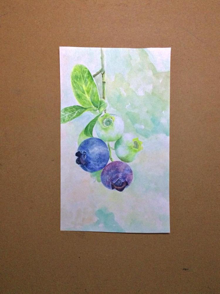 Yaban Mersini, Orijinal Tablolar, , kanvas tablo, canvas print sales